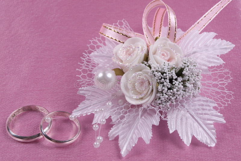accessorie buttonhole śluby zdjęcie royalty free
