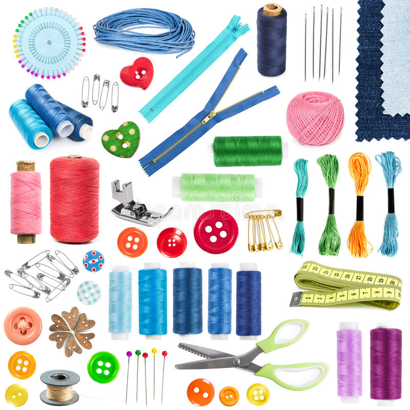 Free Accessories And Tools For Sewing Stock Photo - 58983940