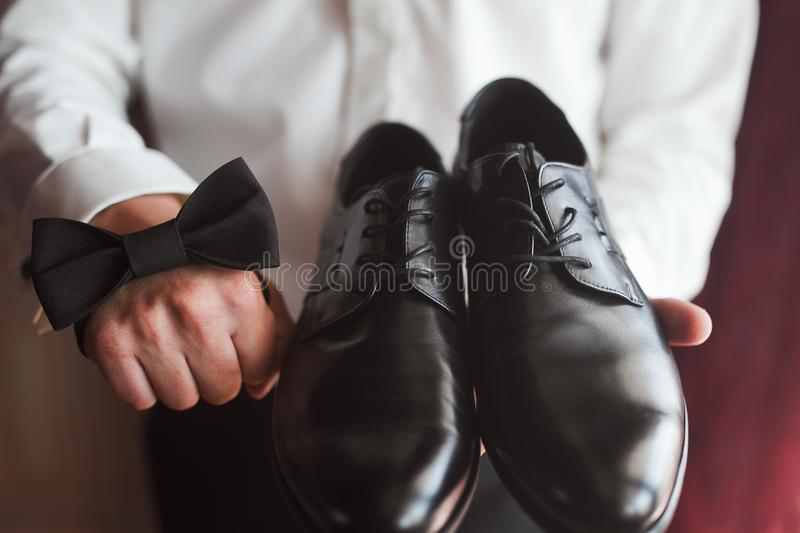 Men accessories royalty free stock photography