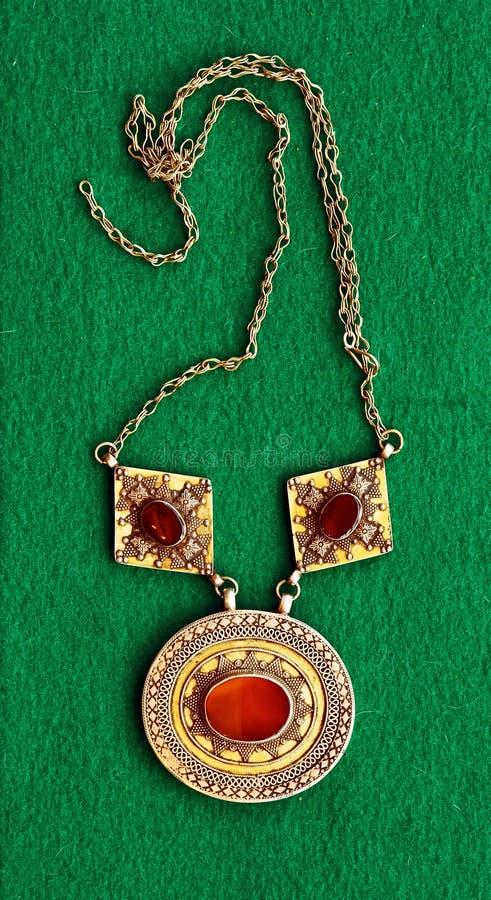 Accessorio d'argento asiatico dell'annata immagine stock
