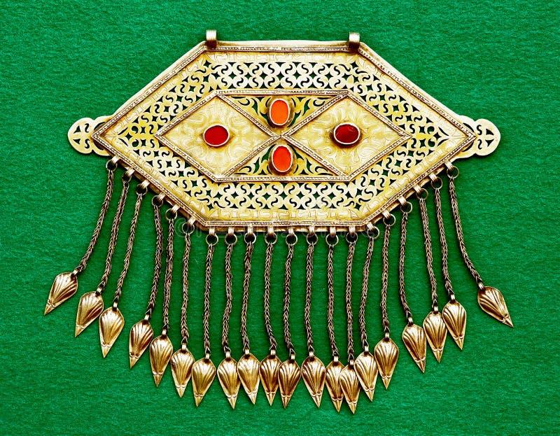 Accessorio d'argento asiatico dell'annata fotografie stock libere da diritti