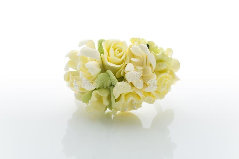 Accessorio del fiore di nozze immagine stock libera da diritti