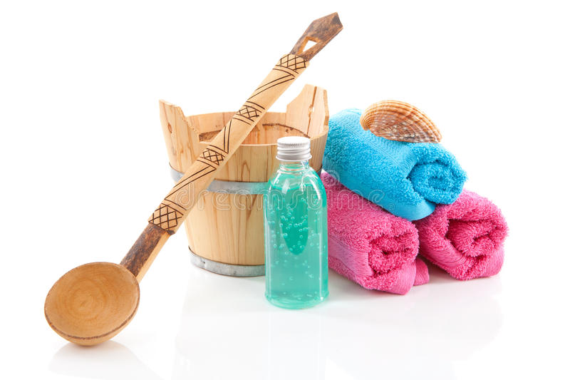 Download Accessory for spa or sauna stock image. Image of closeup - 18553065