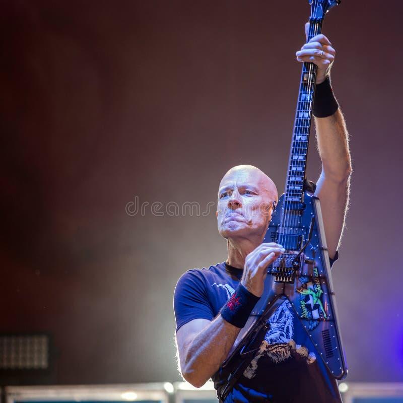 Accetti a Metalfest 2015 fotografia stock