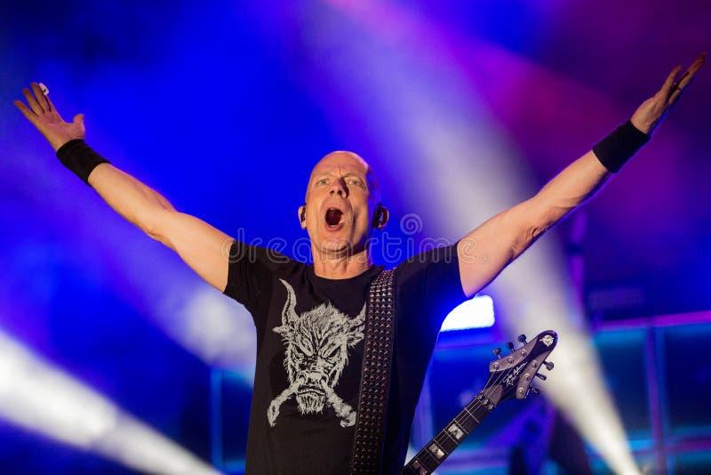 Accetti a Metalfest 2015 immagini stock libere da diritti