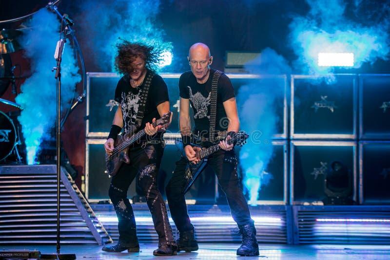 Accetti a Metalfest 2015 fotografie stock libere da diritti