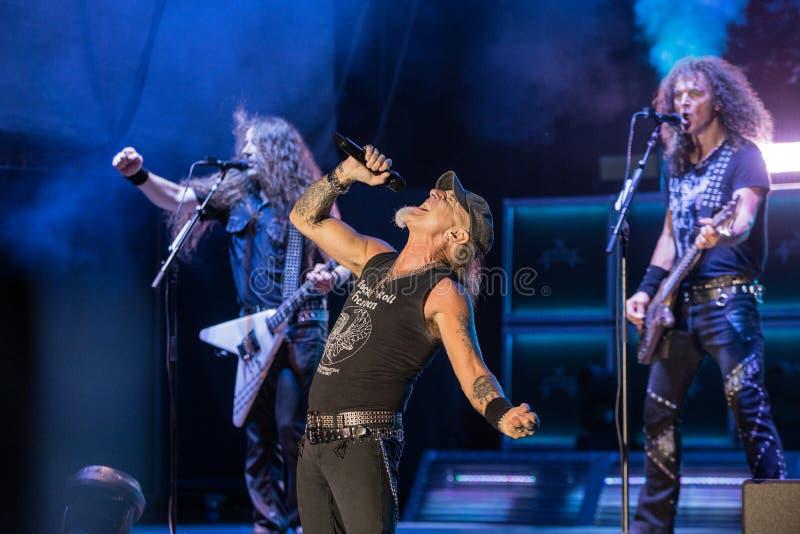 Accetti a Metalfest 2015 fotografia stock libera da diritti