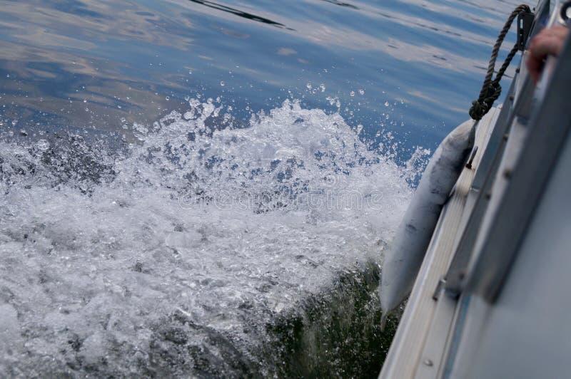 Acción del barco imagen de archivo libre de regalías