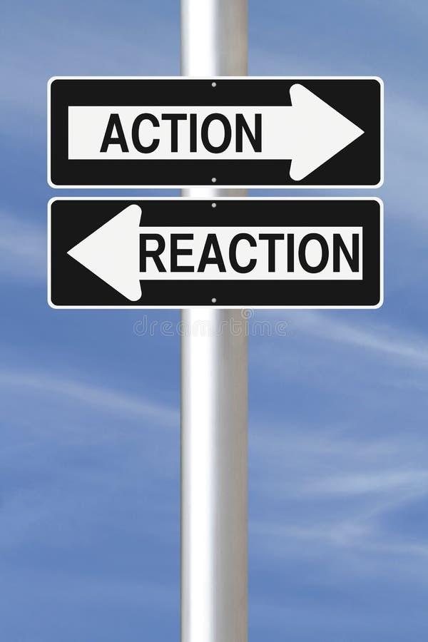 Acción y reacción libre illustration