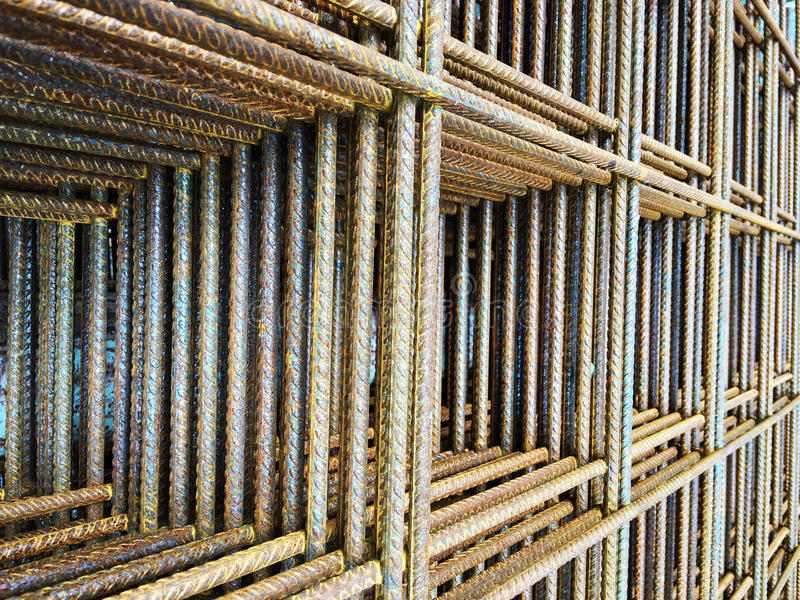 Acciaio della rete metallica, metallo, ferro fotografie stock libere da diritti