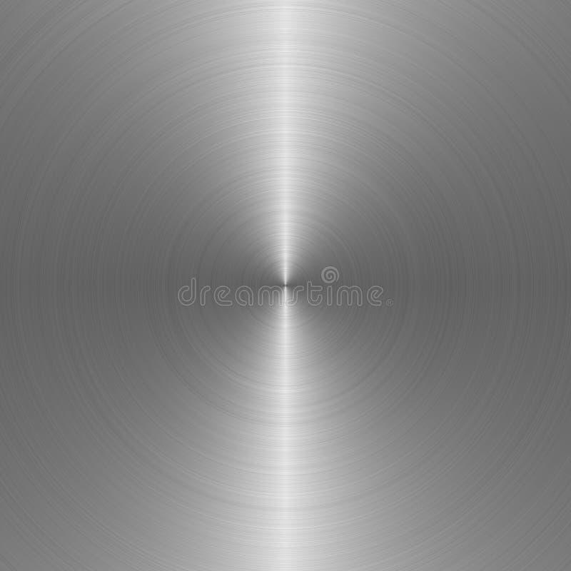 Acciaio di struttura del metallo illustrazione di stock