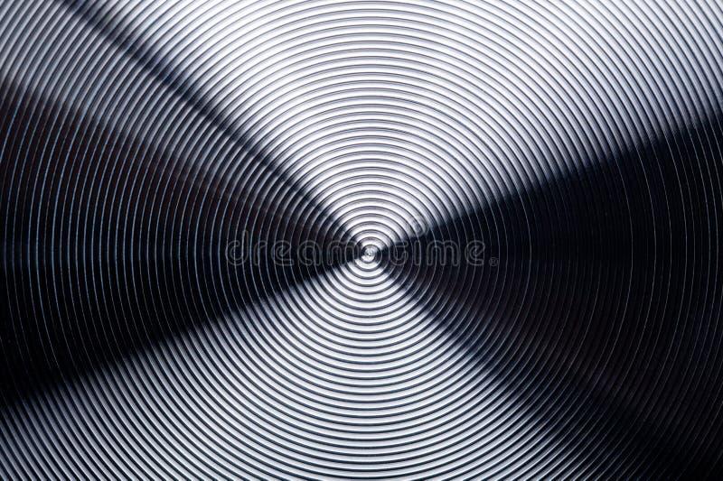 Acciaio inossidabile radiale immagini stock