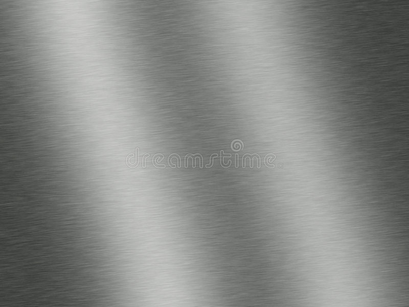 Acciaio o metallo spazzolato fotografia stock