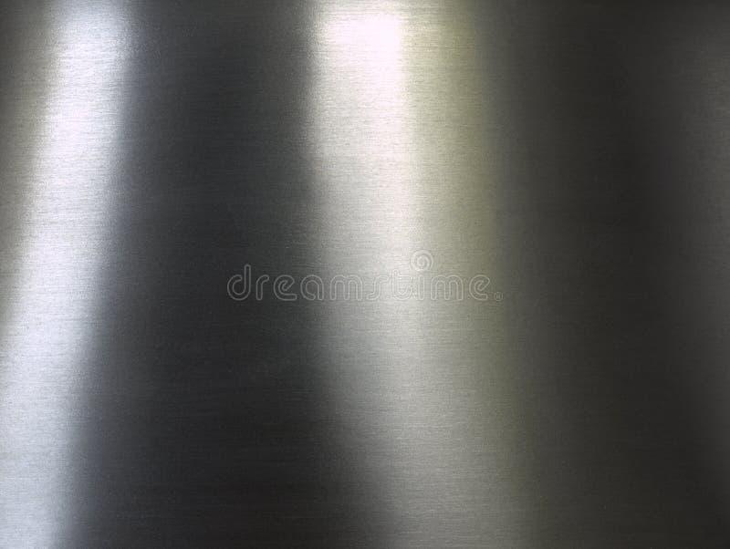 Acciaio spazzolato fotografia stock