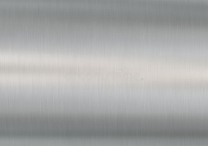 Acciaio spazzolato - orizzontale fotografia stock libera da diritti