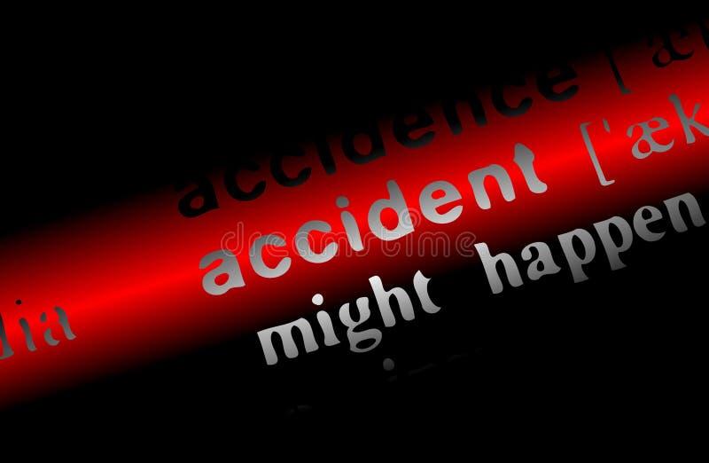 Accident photographie stock libre de droits