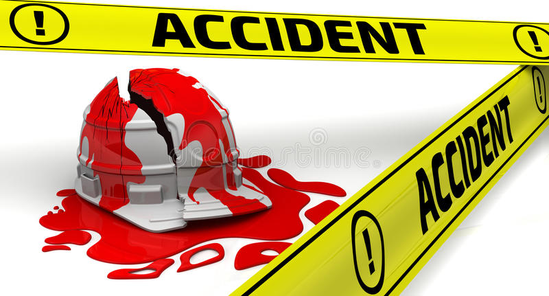 accident Concept illustration stock