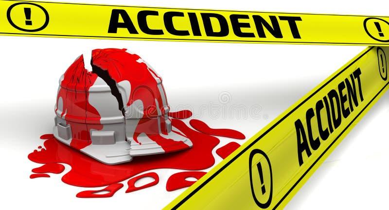 Accident. Concept stock illustration