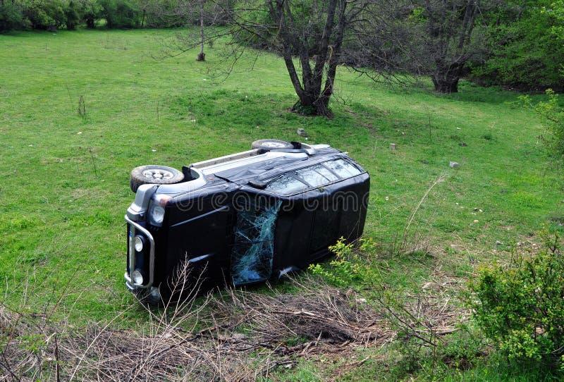 Accident d'accident de voiture photo libre de droits