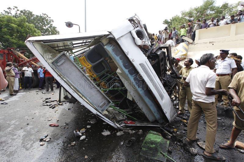 Accident de la route image libre de droits