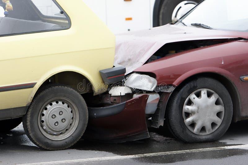 Accident de véhicule photos stock