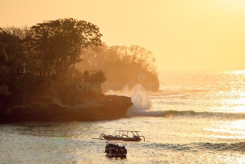 Accident de vagues photographie stock libre de droits