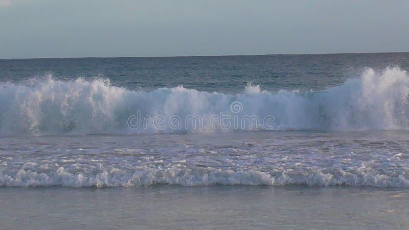 Accident de vagues photo stock