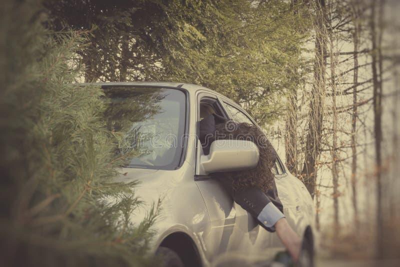 Accident de voiture de conduite en état d'ivresse images stock