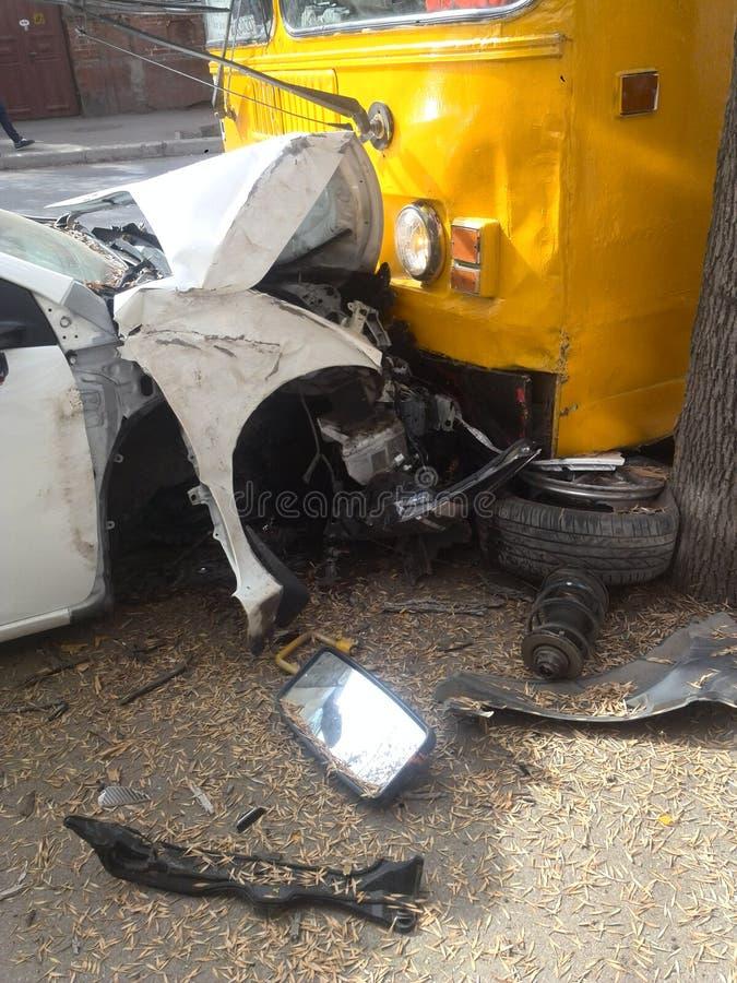 Accident de voitures photos libres de droits