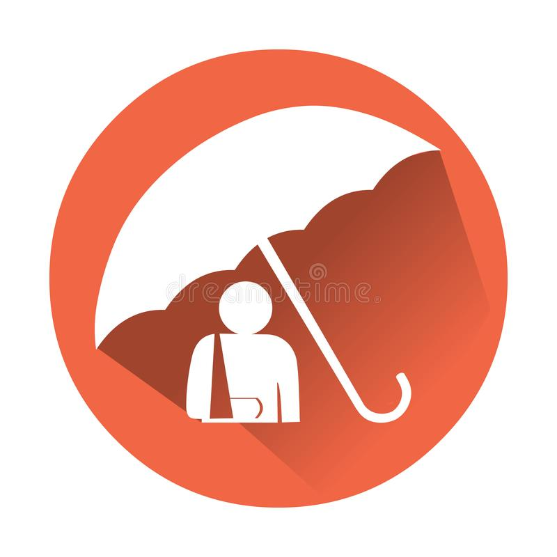 Free Accident Insurance Icon. Royalty Free Stock Image - 117993566