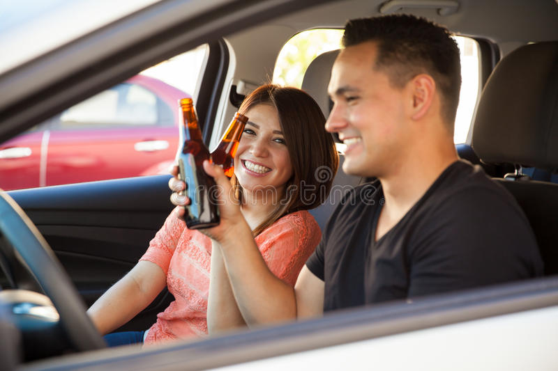 An accident waiting to happen stock image