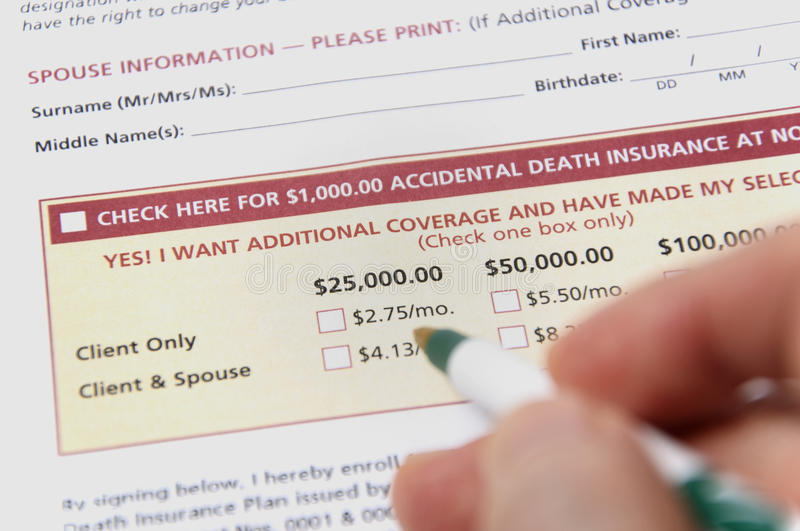 Download Accidental death insurance stock image. Image of privacy - 21339409