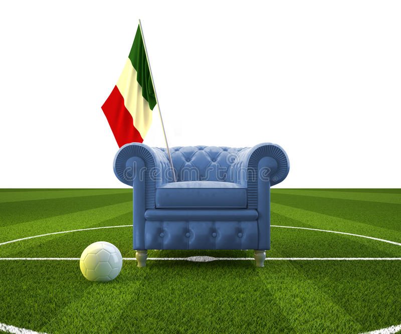 Acclamation de l'Italie illustration de vecteur