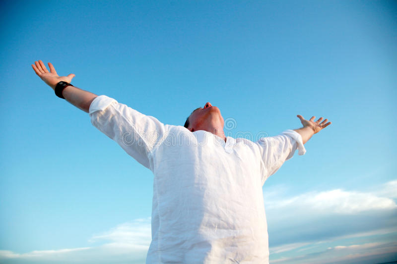 Download Accomplished Man stock image. Image of holy, health, achievement - 13476697