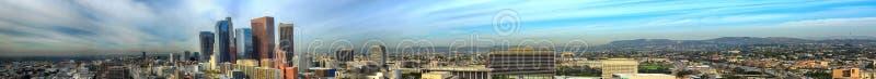 Accomplissez le pano de Los Angeles images libres de droits