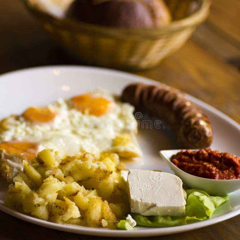 Accomplissez le repas de petit déjeuner photos libres de droits