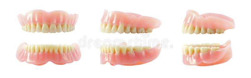 Accomplissez les dentiers image stock