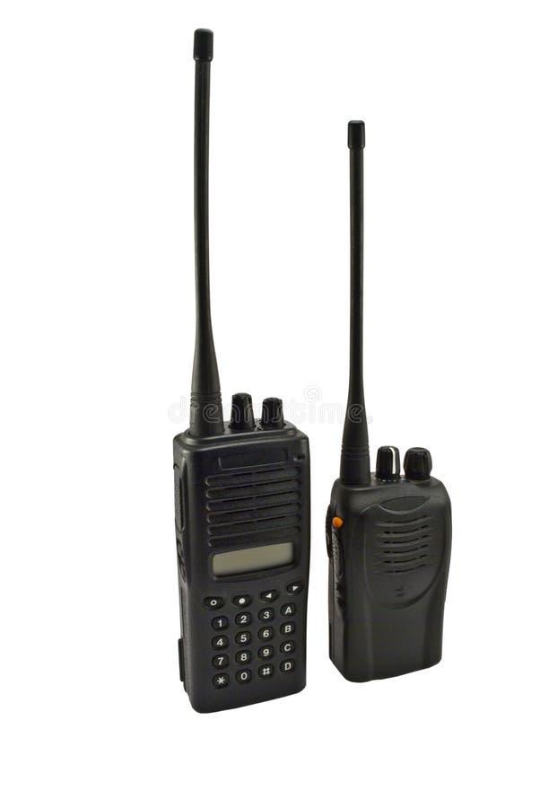 Accoppiamenti dei microtelefoni di frequenza ultraelevata fotografie stock
