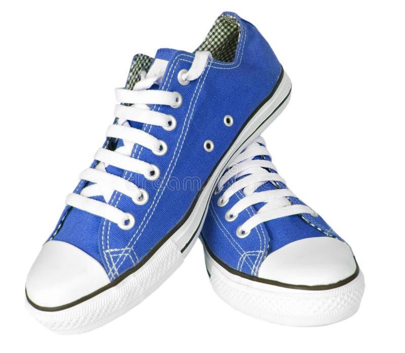 Accoppiamenti delle scarpe da tennis nuove immagine stock