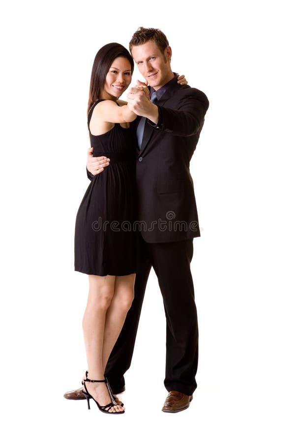 Accoppiamenti felici di dancing immagini stock libere da diritti