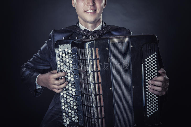 accordéon image stock