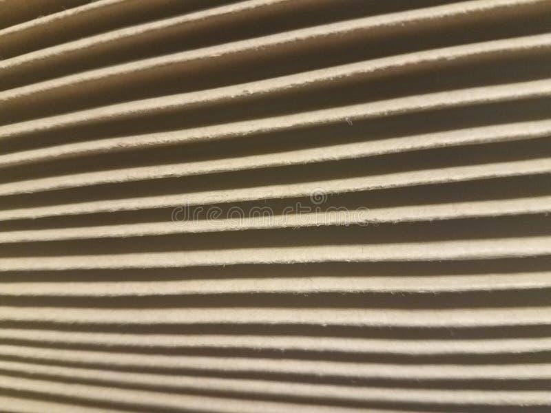 Accordéon de dossier avec les lignes légères et foncées images stock