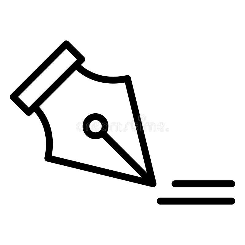 Accord, autographe Icône vectorielle isolée pouvant être facilement modifié ou modifié illustration de vecteur