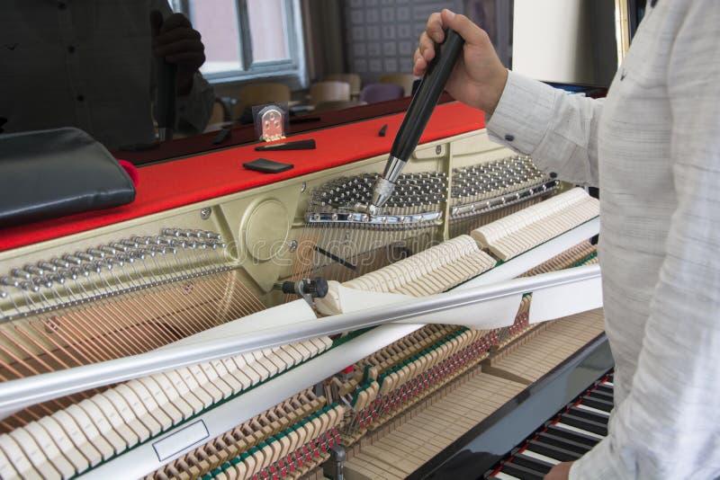 Accord de votre piano photographie stock libre de droits