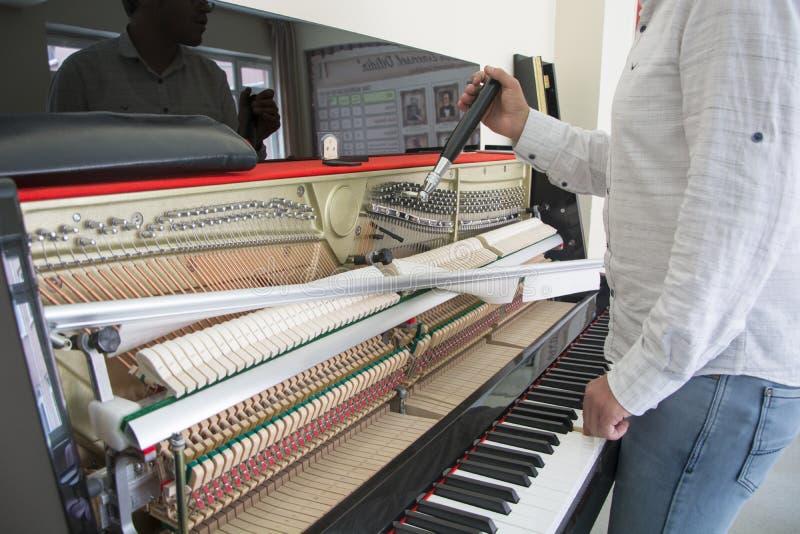 Accord de votre piano photo stock