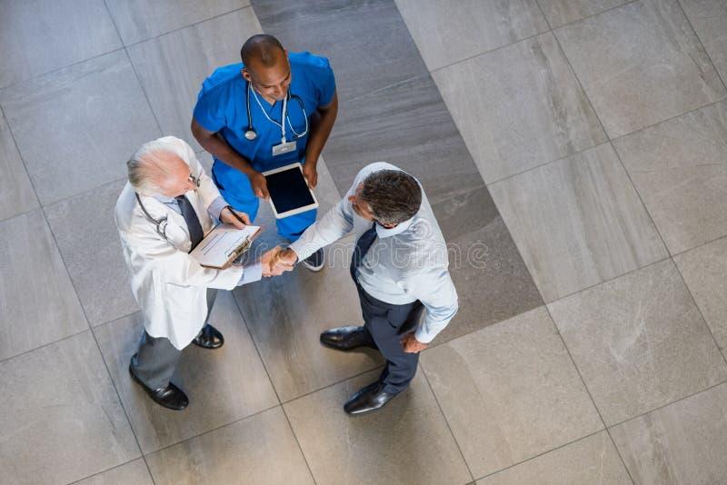 Accord médical image stock