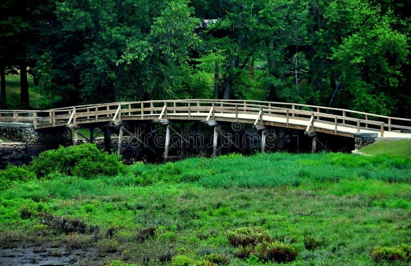 Accord, mA : Vieux pont du nord images libres de droits