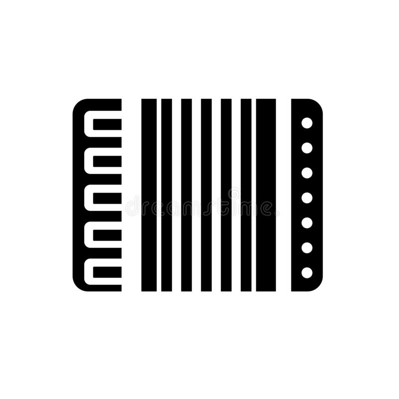 Accordion icon. Trendy Accordion logo concept on white background from Music collection stock illustration