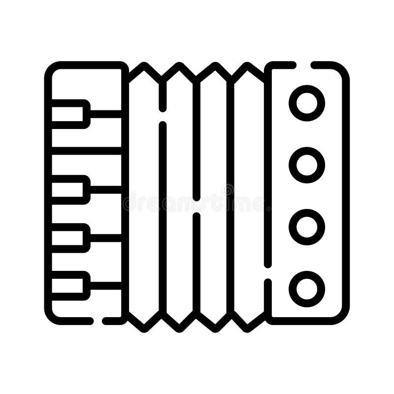 Accordion icon. Vector. Accordion icon Vector illustration photo royalty free illustration