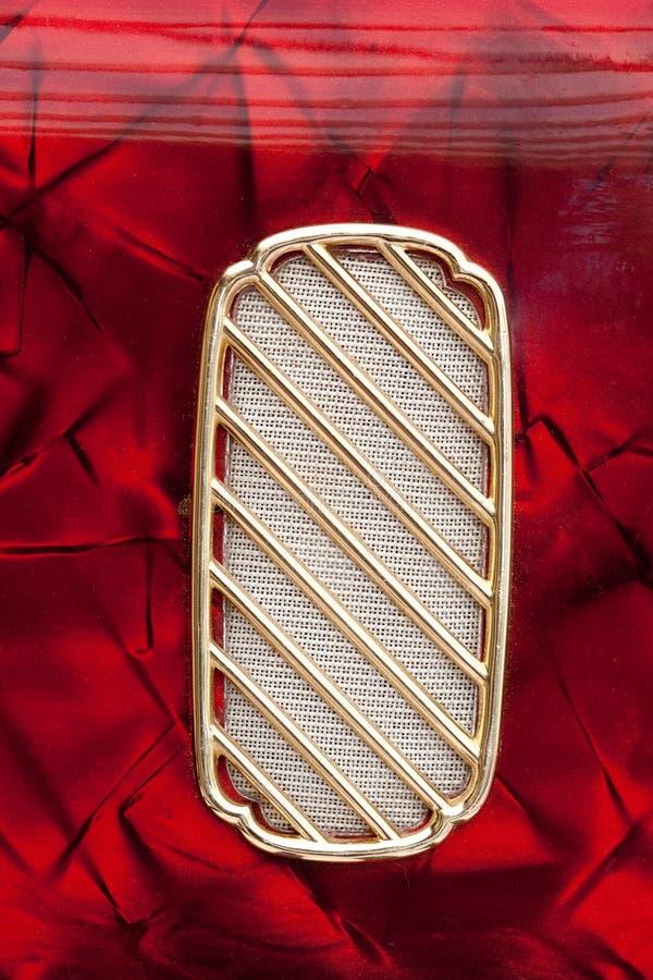 Accordion Speaker Detail royalty free stock image